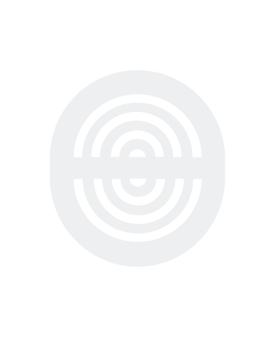 Midi-Scherma Mschera in plastica con gorgera Blu